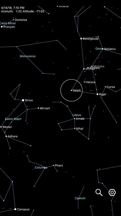 Constellation Map mobile screenshot-4