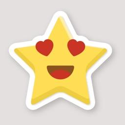 stars face emoji