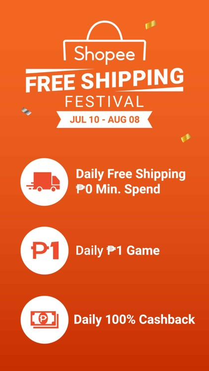 Shopee: Free Shipping Festival screenshot-1