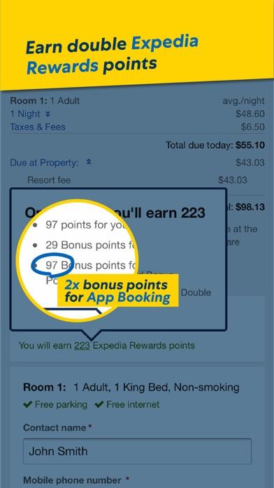 Screenshots for Expedia: Hotels, Flights & Car