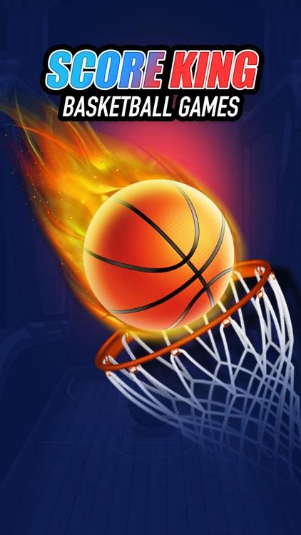 Score King-Basketball Games 3D screenshot-0