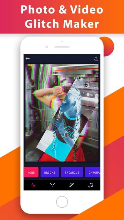 Glitch Video Photo 3D Effect.s screenshot-0