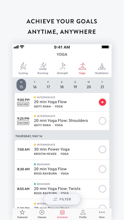 Peloton — Live workout classes screenshot-8