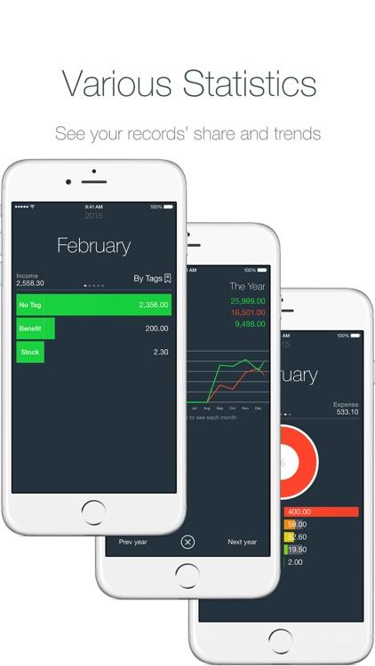 Money - Track easily
