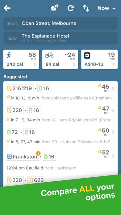 Screenshot for Citymapper - Local Transport in New Zealand App Store