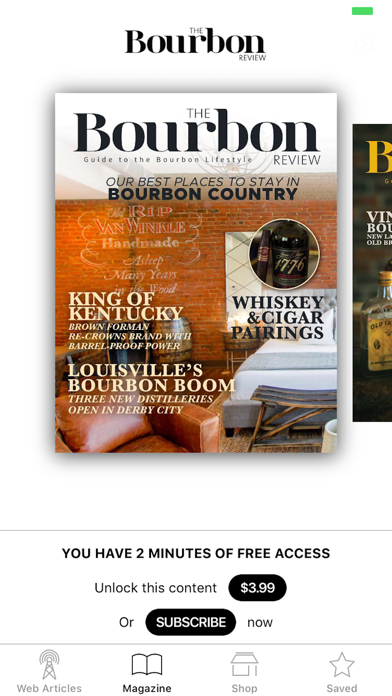 The Bourbon Review review screenshots