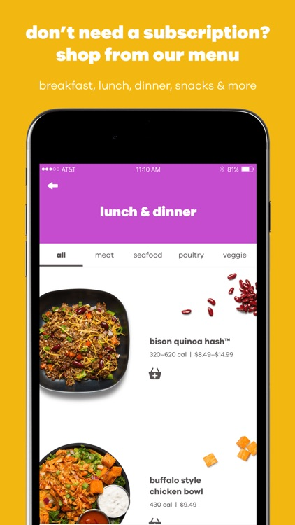 Snap Kitchen: Meal Delivery screenshot-4