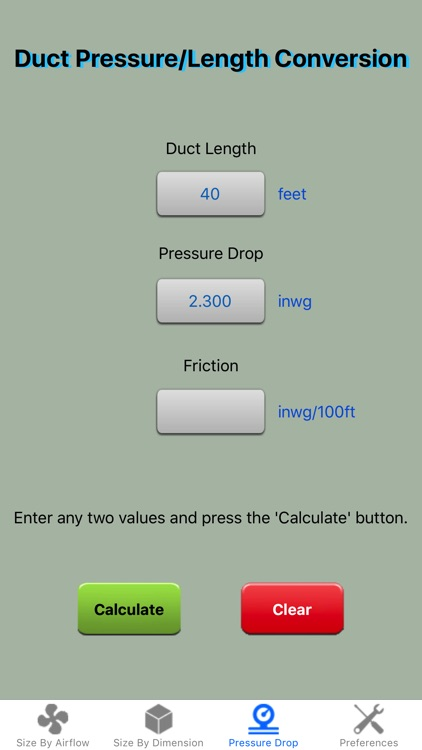 Duct Calculator Elite screenshot-3