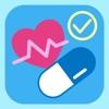ファーマボード/バイタル測定値と服薬業務の管理
