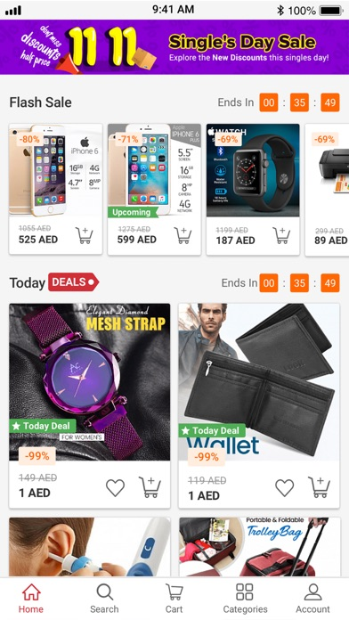 Screenshot for AWOK - اووك للتسوق in United Arab Emirates App Store