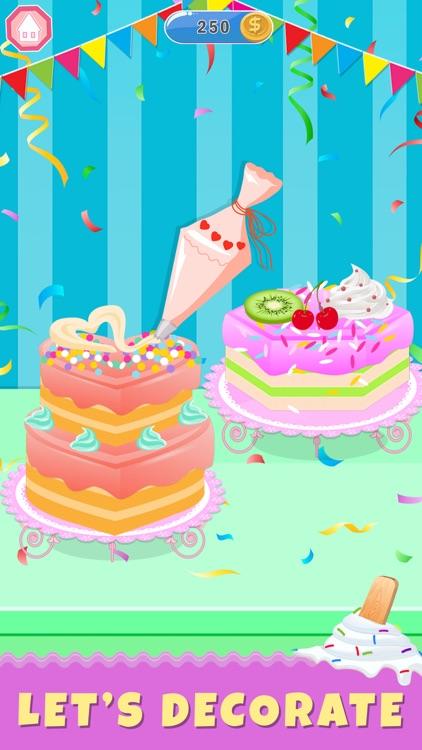 Ice Cream Cake Baker Shop screenshot-4