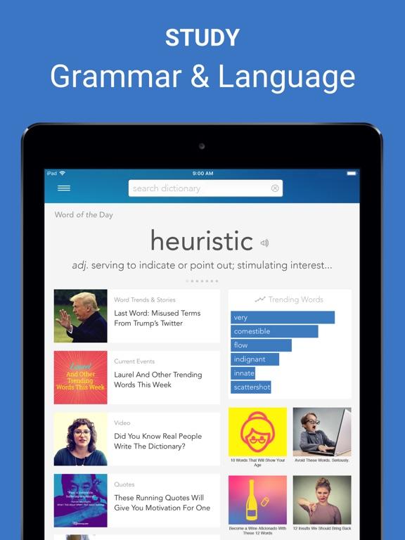 Dictionary.com for iPad Screenshot 4