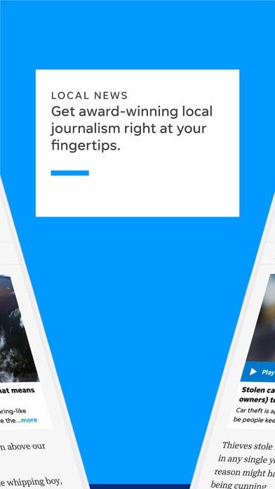 Tallahassee Democrat Screenshot on iOS