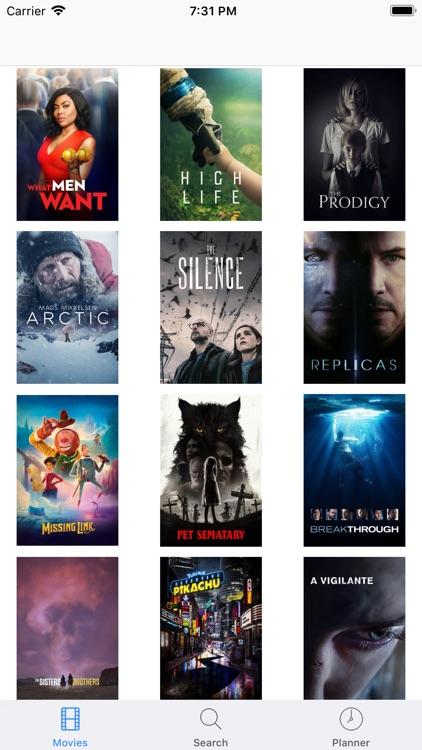 Movie Show Box - TV Planner