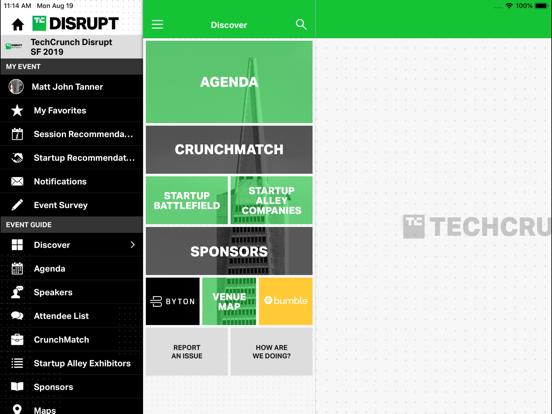TechCrunch Disrupt Events screenshot 8