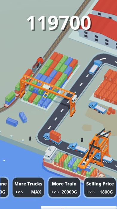 Idle Port Tycoon - Sea game screenshot 2