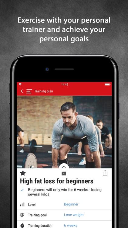 Men's Health Fitness Trainer screenshot-0