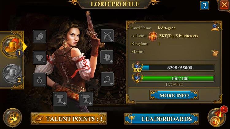 ガンズ・オブ・グローリー: キングダム戦略MMO戦争 screenshot-3