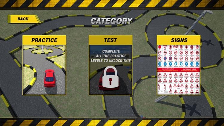 RTO DRIVING TEST SIMULATOR