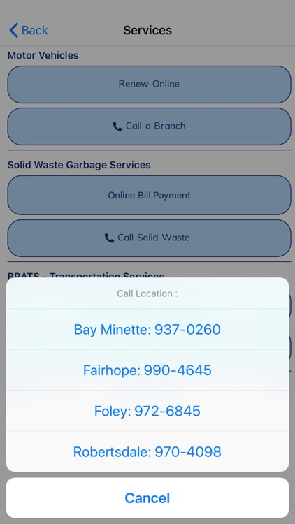 Baldwin County AL Commission screenshot-6