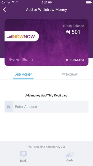 NOWNOW Recharge, Bills, Wallet screenshot two