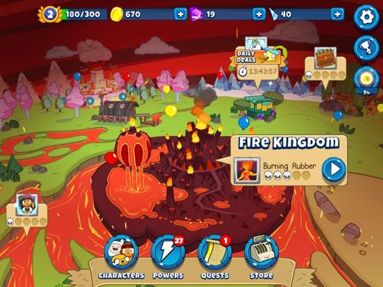 Bloons Adventure Time TD iPad app afbeelding 3