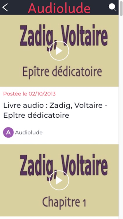 Audiobooks in french screenshot-3