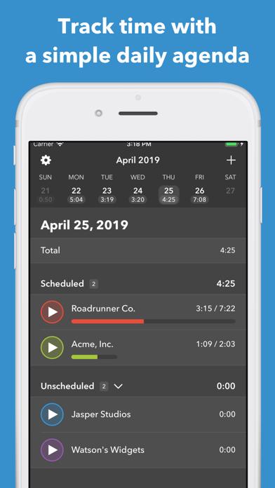 Manifest - Smart Time Tracking screenshot one