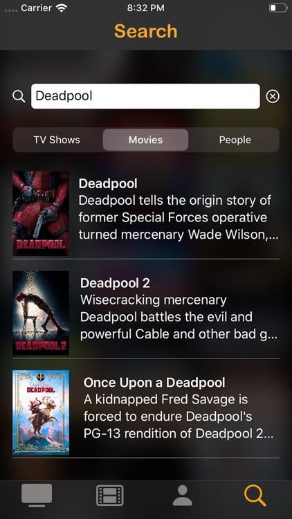 UpNext - Track Shows & Movies screenshot-4