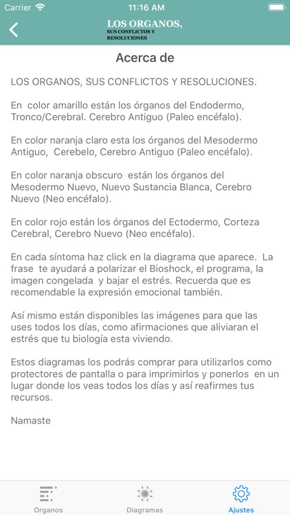 LOS ÓRGANOS screenshot-4