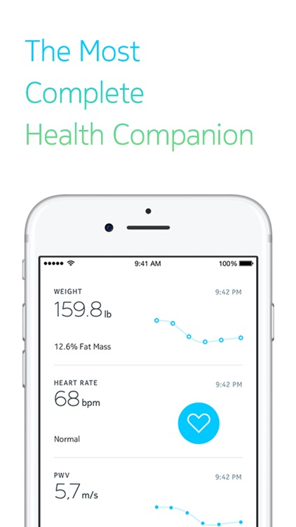 Withings Health Mate screenshot-0