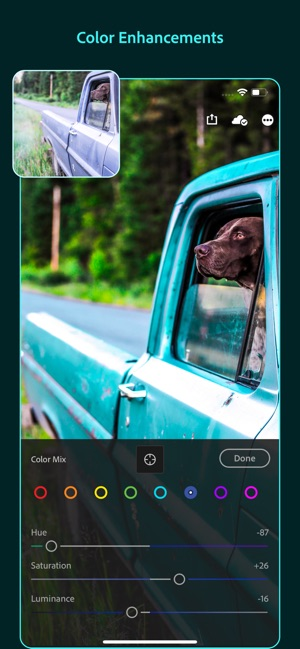 ‎Adobe Lightroom - Photo Editor Screenshot