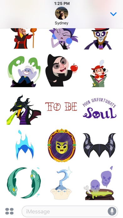 Disney Stickers: Villains