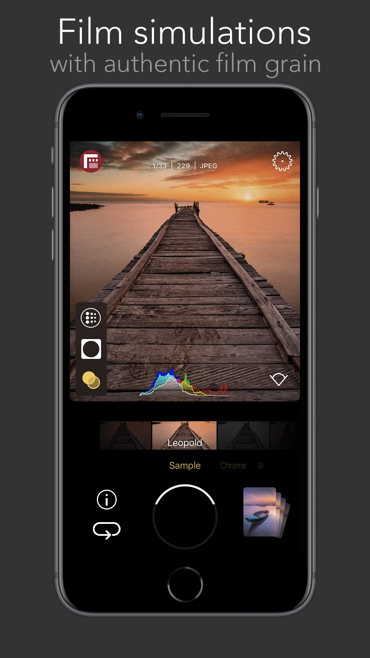 Screenshot do app FiLMiC Firstlight: App de foto