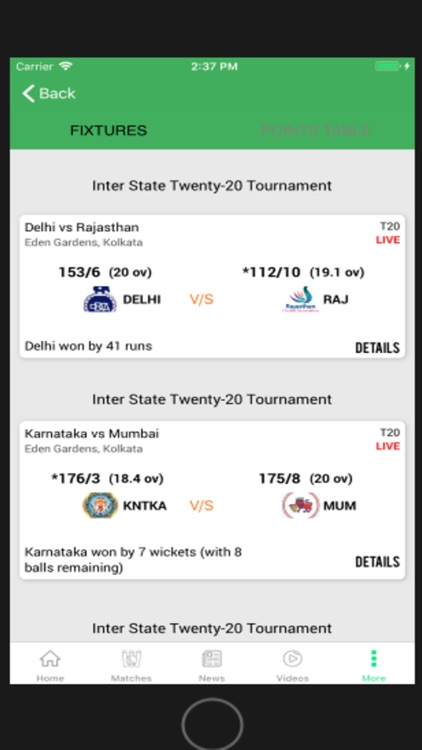 CRIKNOW: Cricket Scores & News screenshot-5