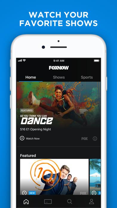 FOX NOW: Watch TV & Sports by FOX Broadcasting Company (iOS