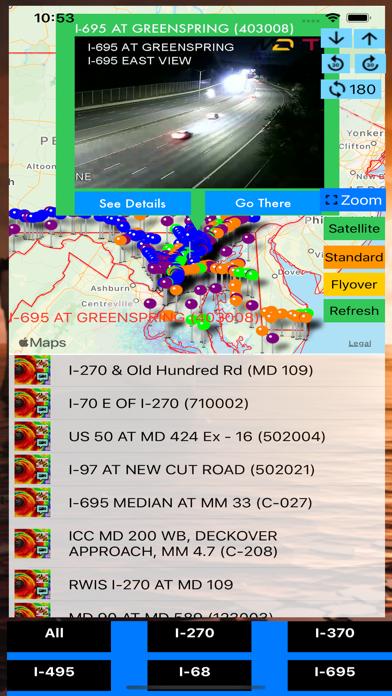 Traffic Cameras Maryland Pro screenshot 1