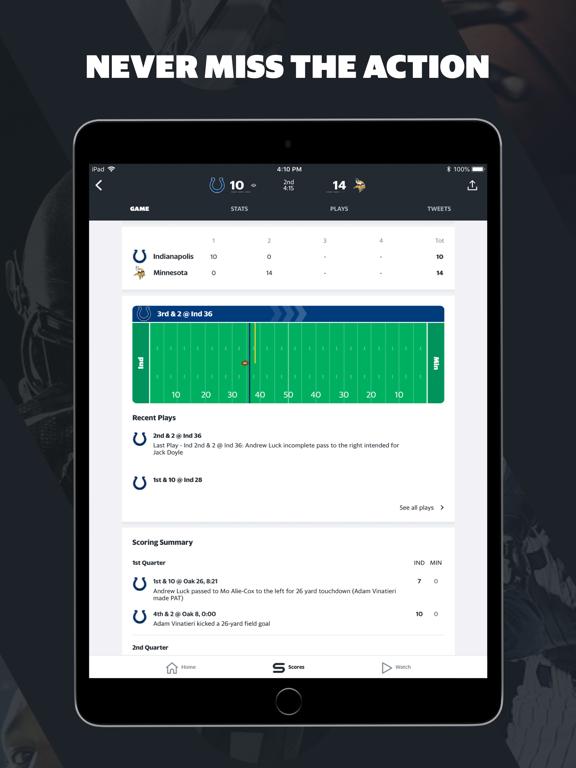 Yahoo Sports: Watch Live NFL-ipad-2