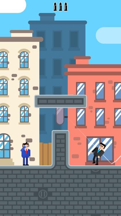 Mr Bullet - Spy Puzzles screenshot-0