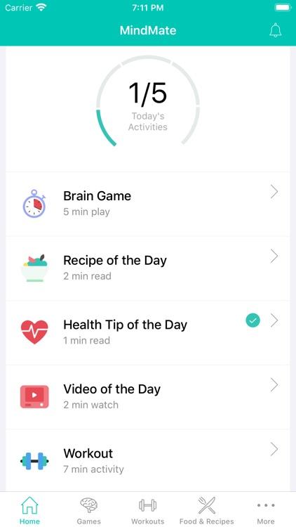 MindMate - For a healthy brain screenshot-0