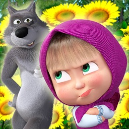 Masha and the Bear:Ball game3D