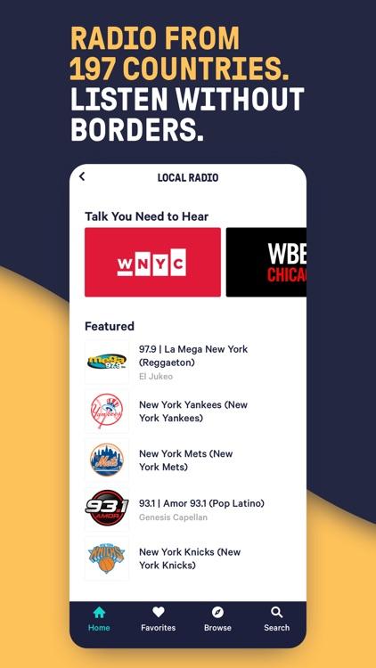 TuneIn - NBA Radio & Live News screenshot-3