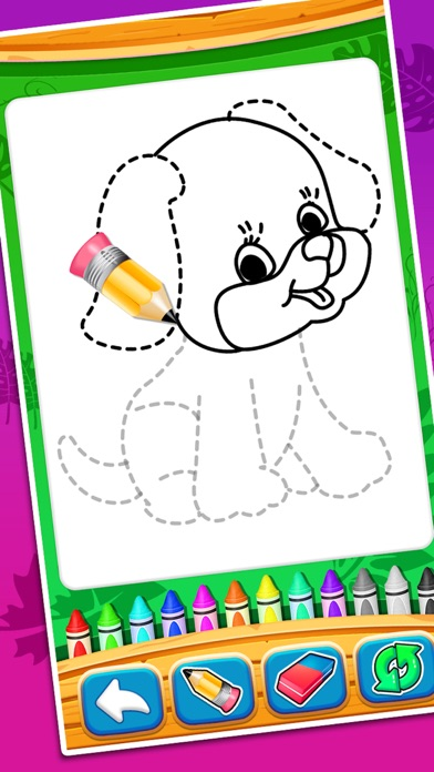 Coloring And Drawing Animals screenshot 1