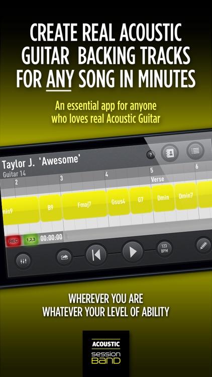 SessionBand Acoustic Guitar 1 screenshot-0