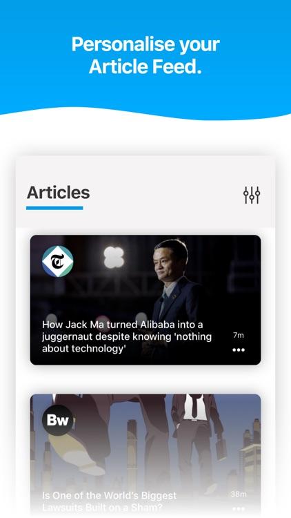 Noa: Listen to news articles screenshot-4