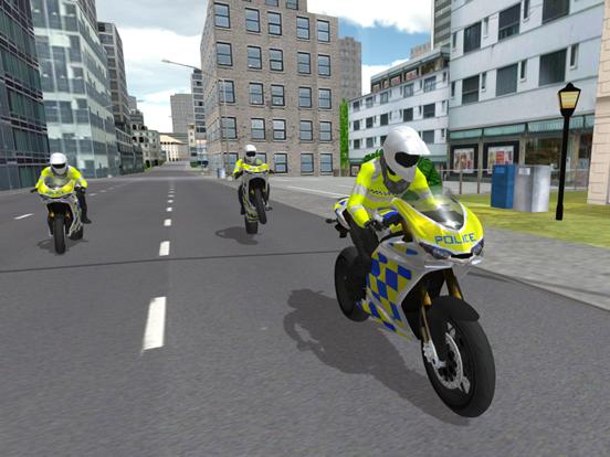 Police Motorbike Simulator 3Dのおすすめ画像5