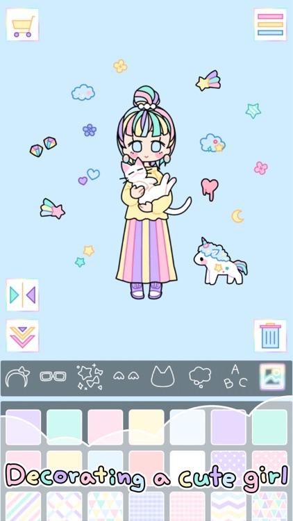 Pastel Girl : Dress Up Game