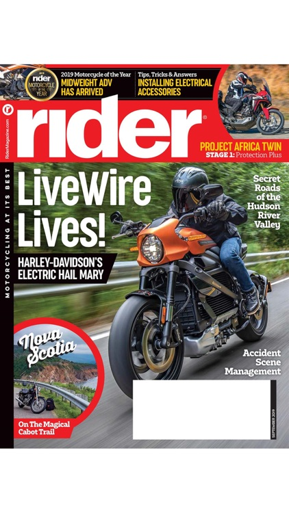 Rider Magazine. screenshot-0