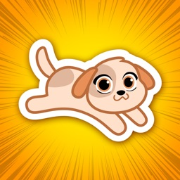 Michi Puppy- Cute Dog Stickers