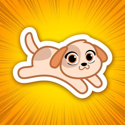 Michi Puppy- Cute Dog Stickers